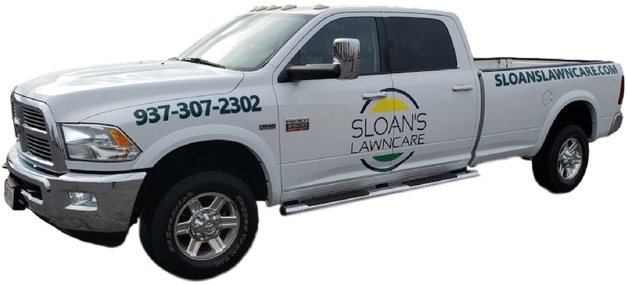 Sloans Lawncare Work Truck