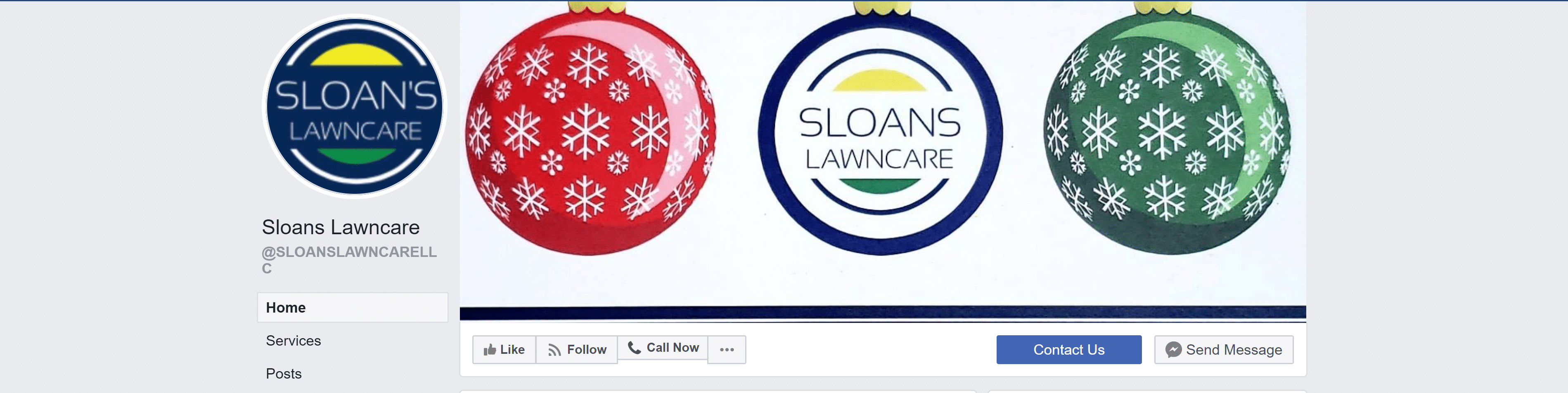 Sloan's Lawn Care Facebook